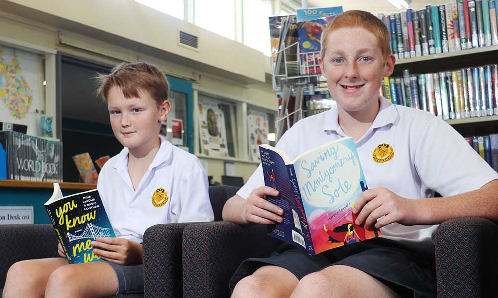 New Look Library Supports Literacy